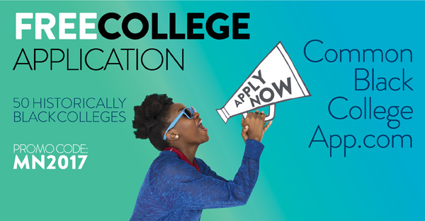 The Common Black College Application allows students to apply to any number of 50 Historically Black Colleges and Universities with just one application