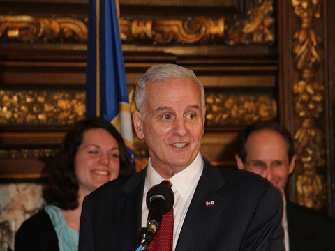Governor Dayton and Sophie Wallerstedt