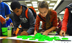 students at College Knowledge Month